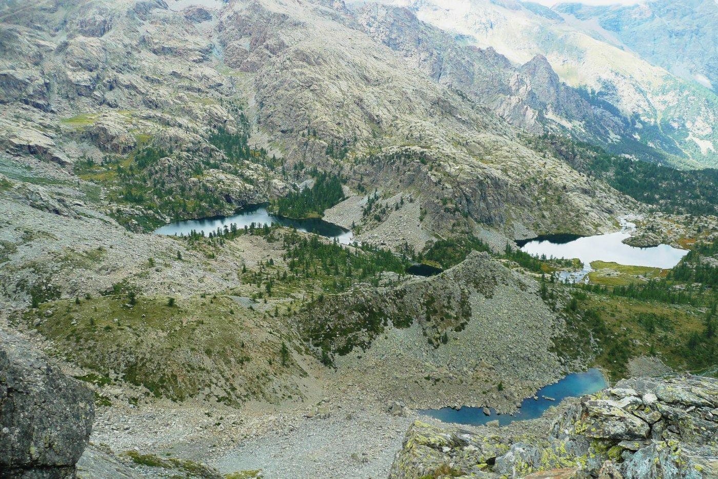 Lac Cornu, Lago Nero e Lago Bianco