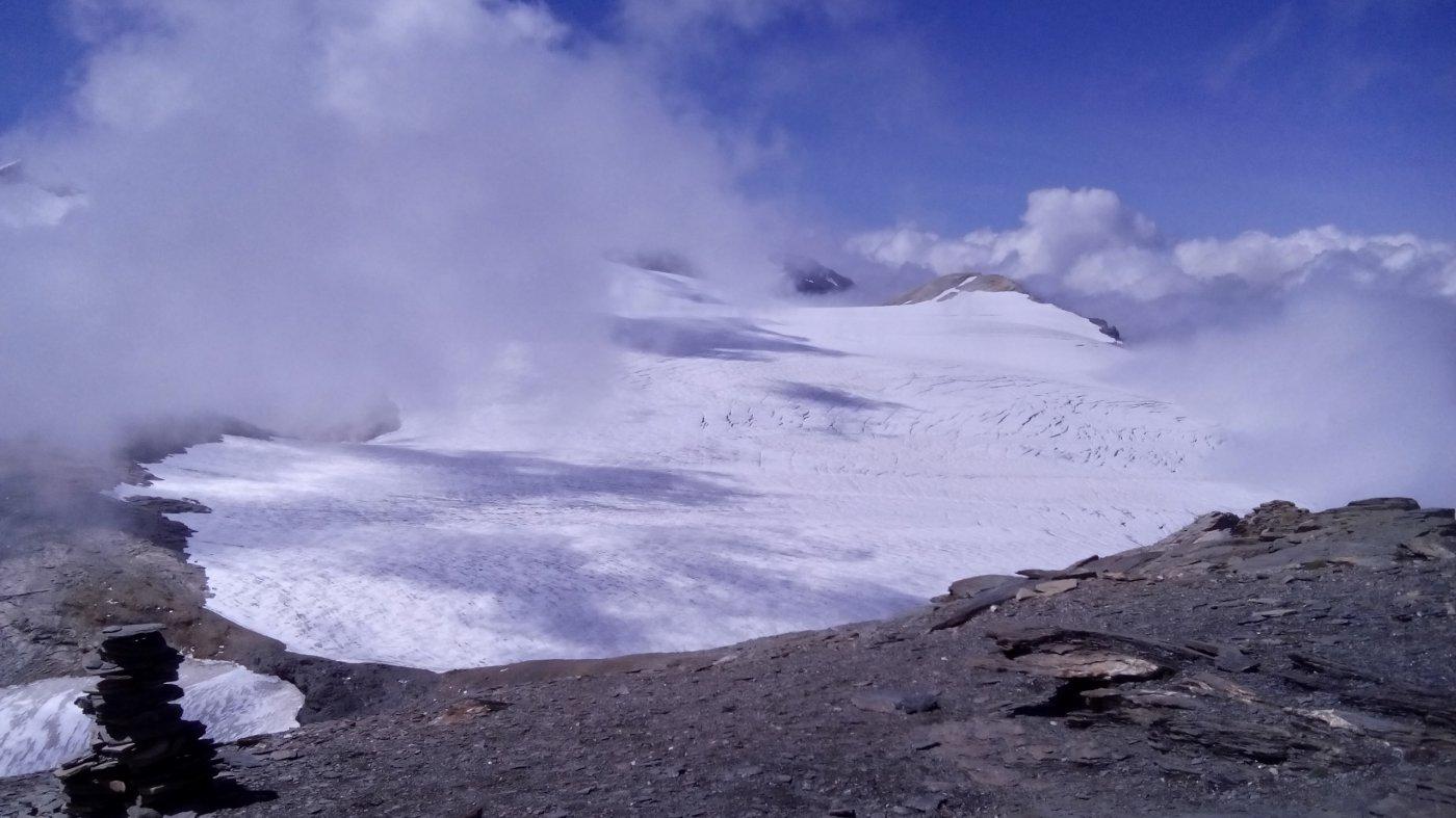 13 - Glacier de la Roche Ferrari dalla cima