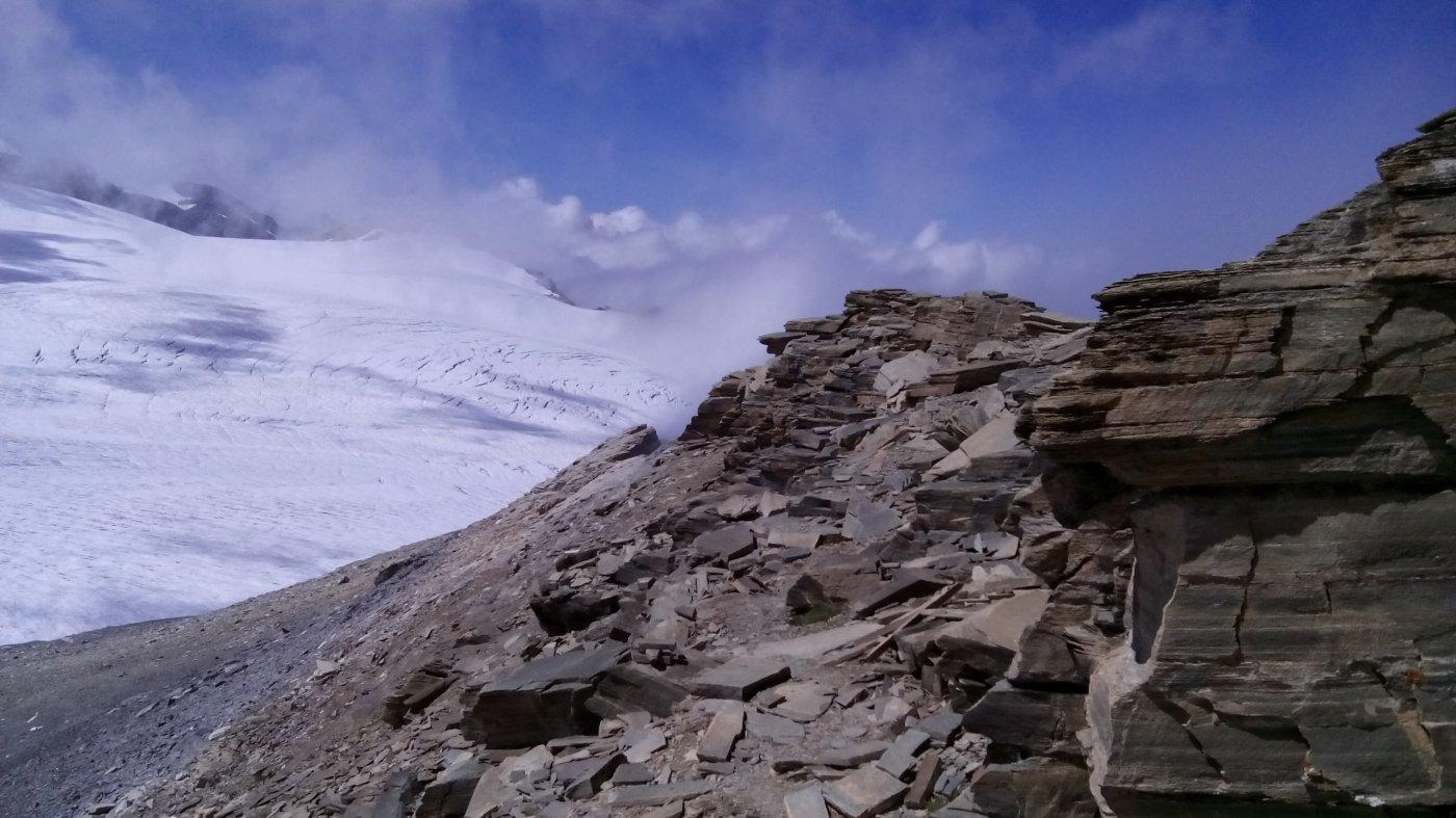 12 - le roccette sulla cresta finale