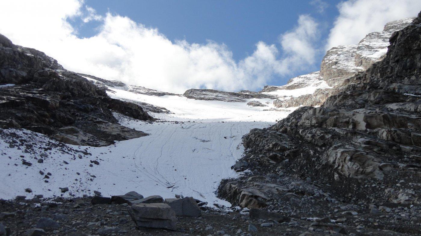 il ghiacciaio del grand etret