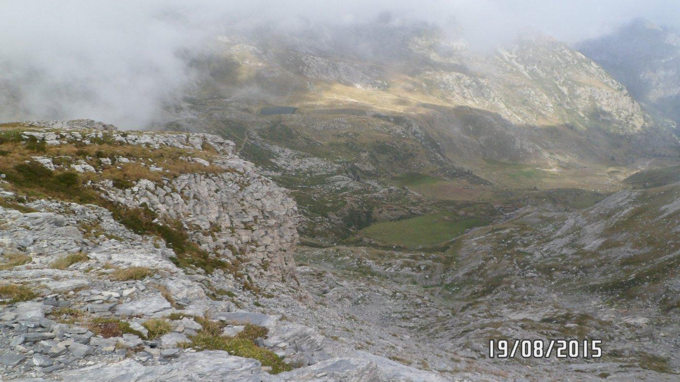 Panorama dalla cima Revelli
