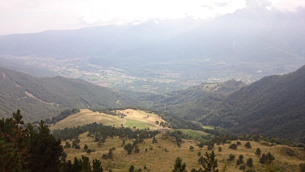 Panorama sull'alpe Combe
