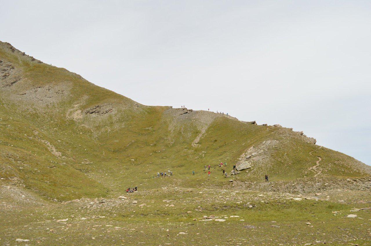 Affollamento ai laghi e in cresta