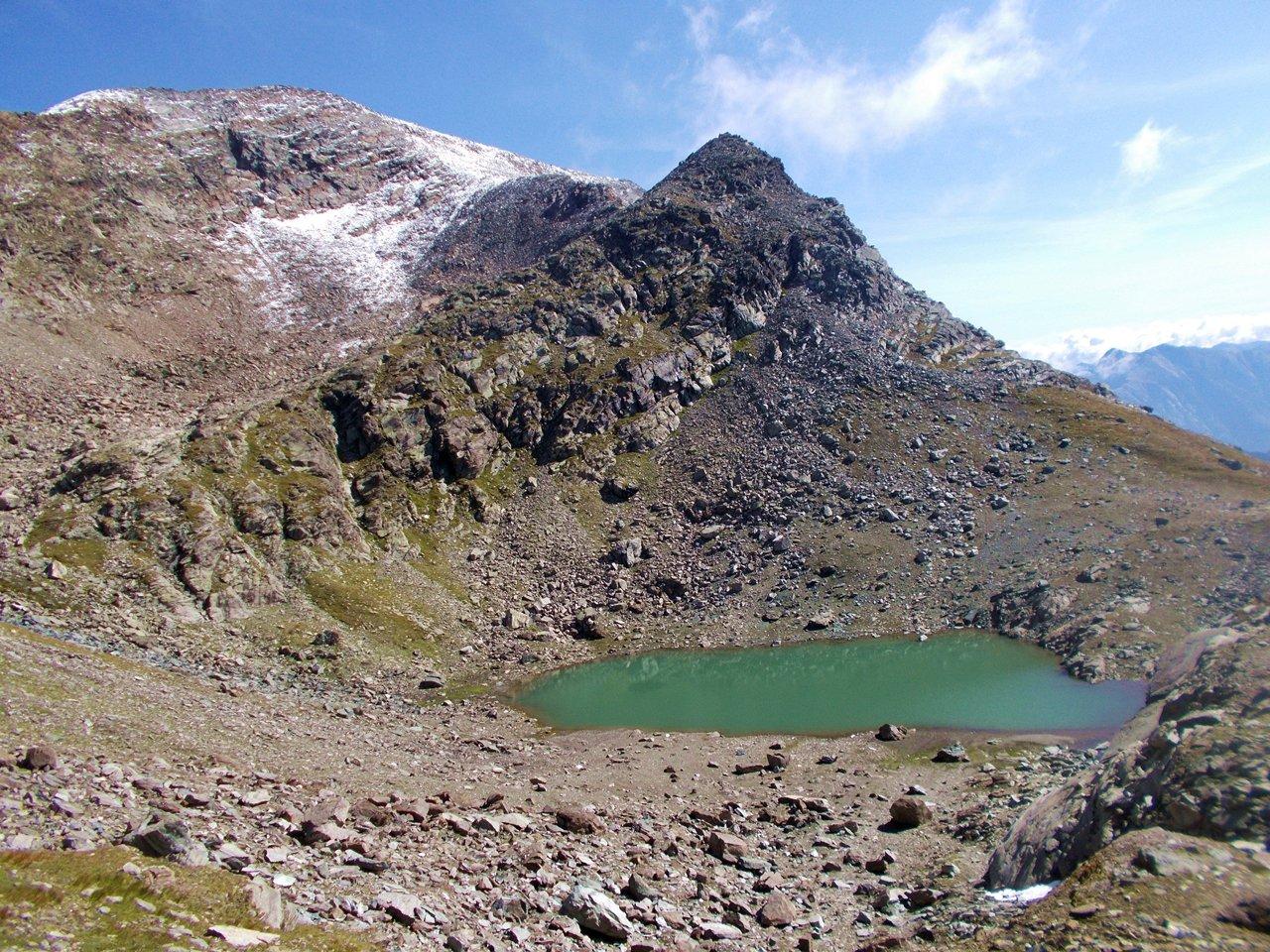 Il lago Gelato e il Mont Glacier