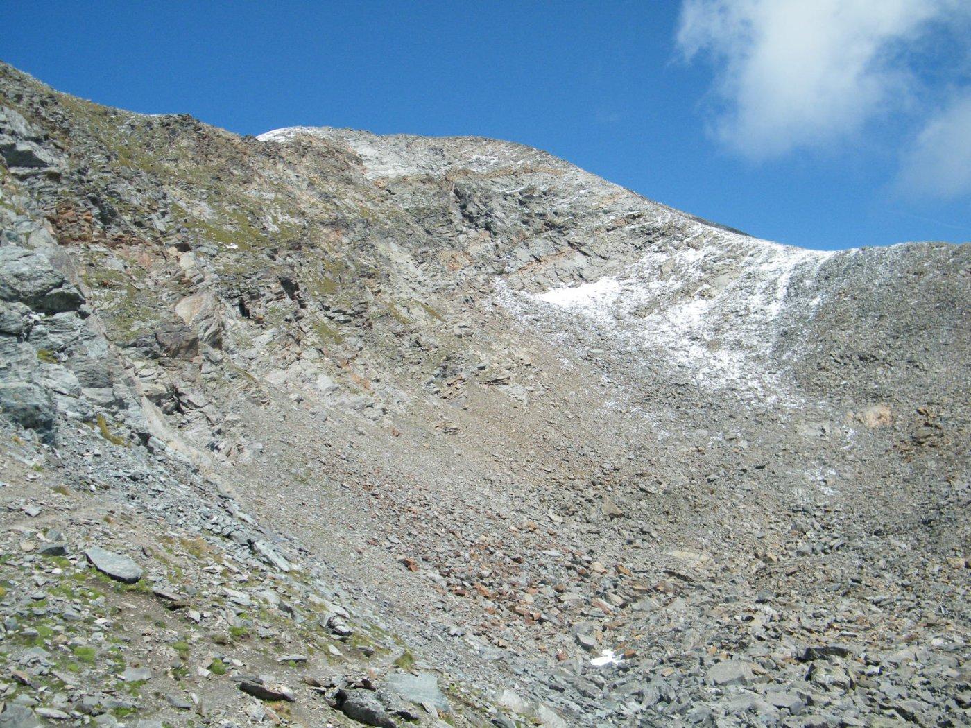 versante sud del m.glacier