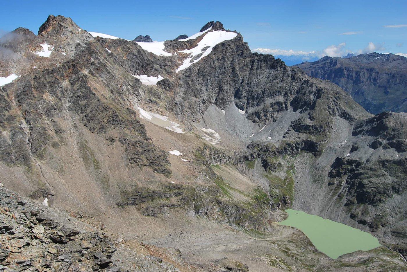 Gran Becca du Mont Cresta Nord 2015-08-20