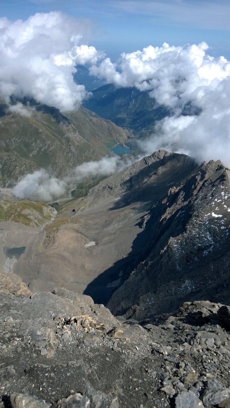 Dalla cima verso Malciaussia