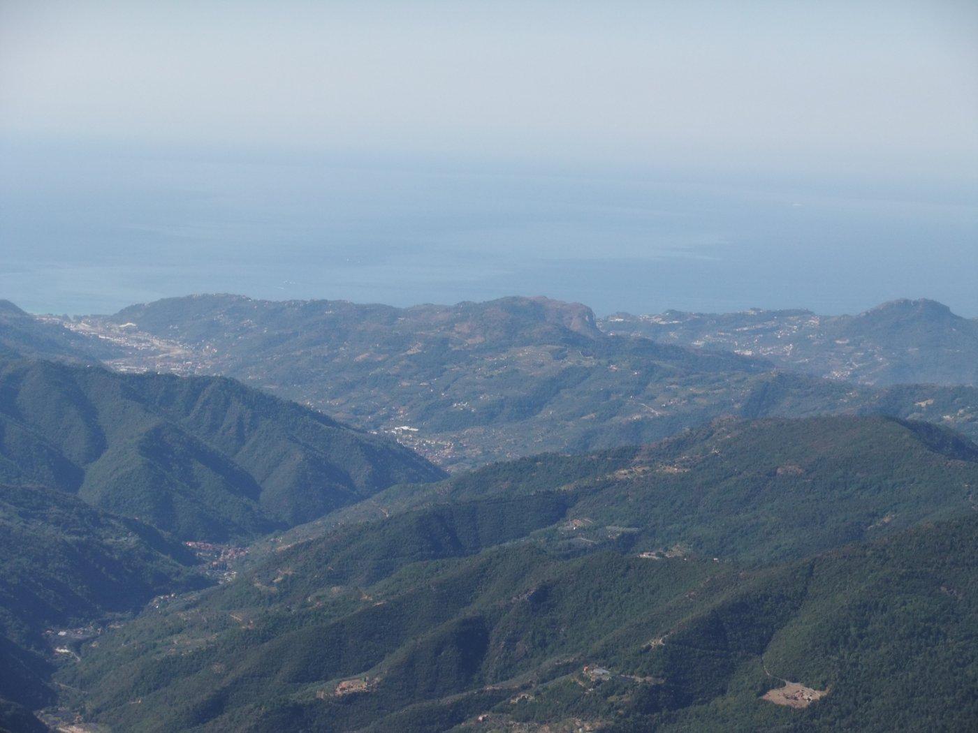 Il mare di Ventimiglia