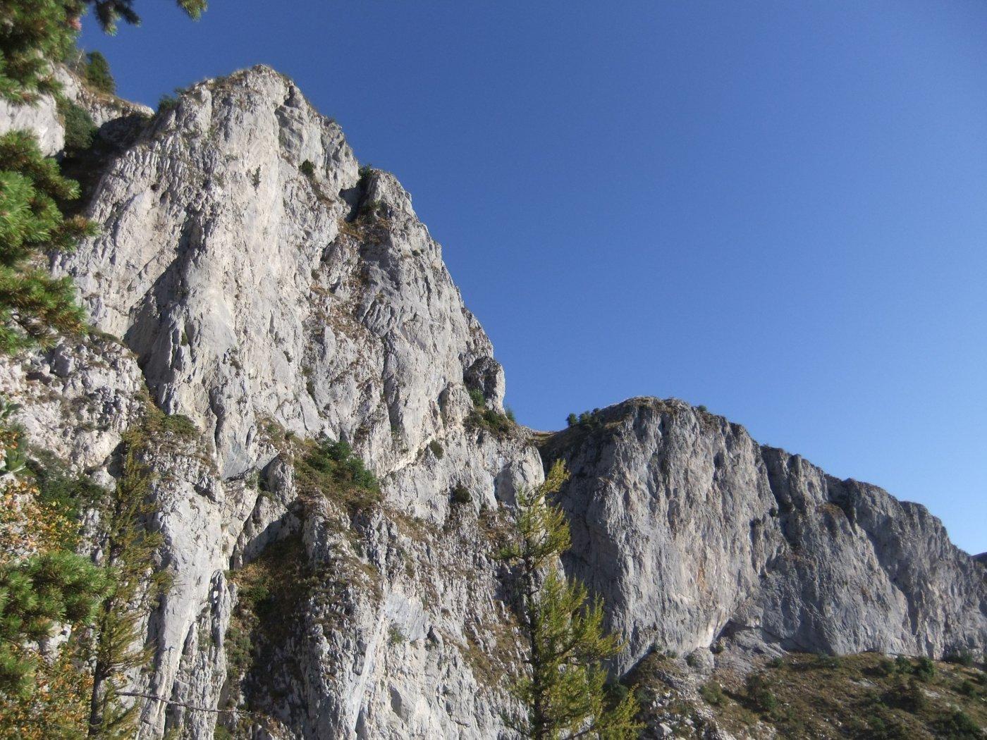 Pareti rocciose del Pietravecchia
