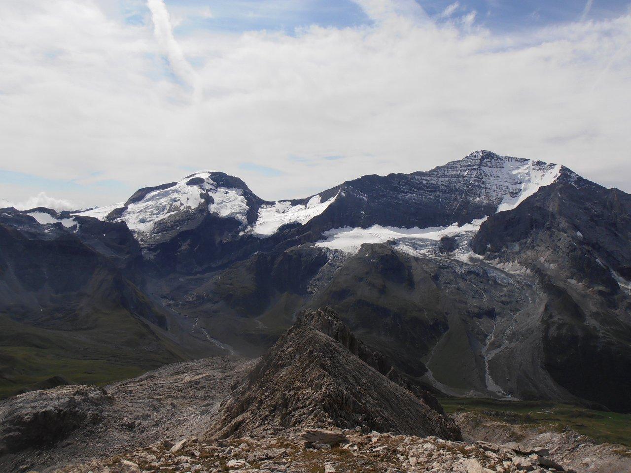 12 - Grande Motte e Grande Casse dalla cima