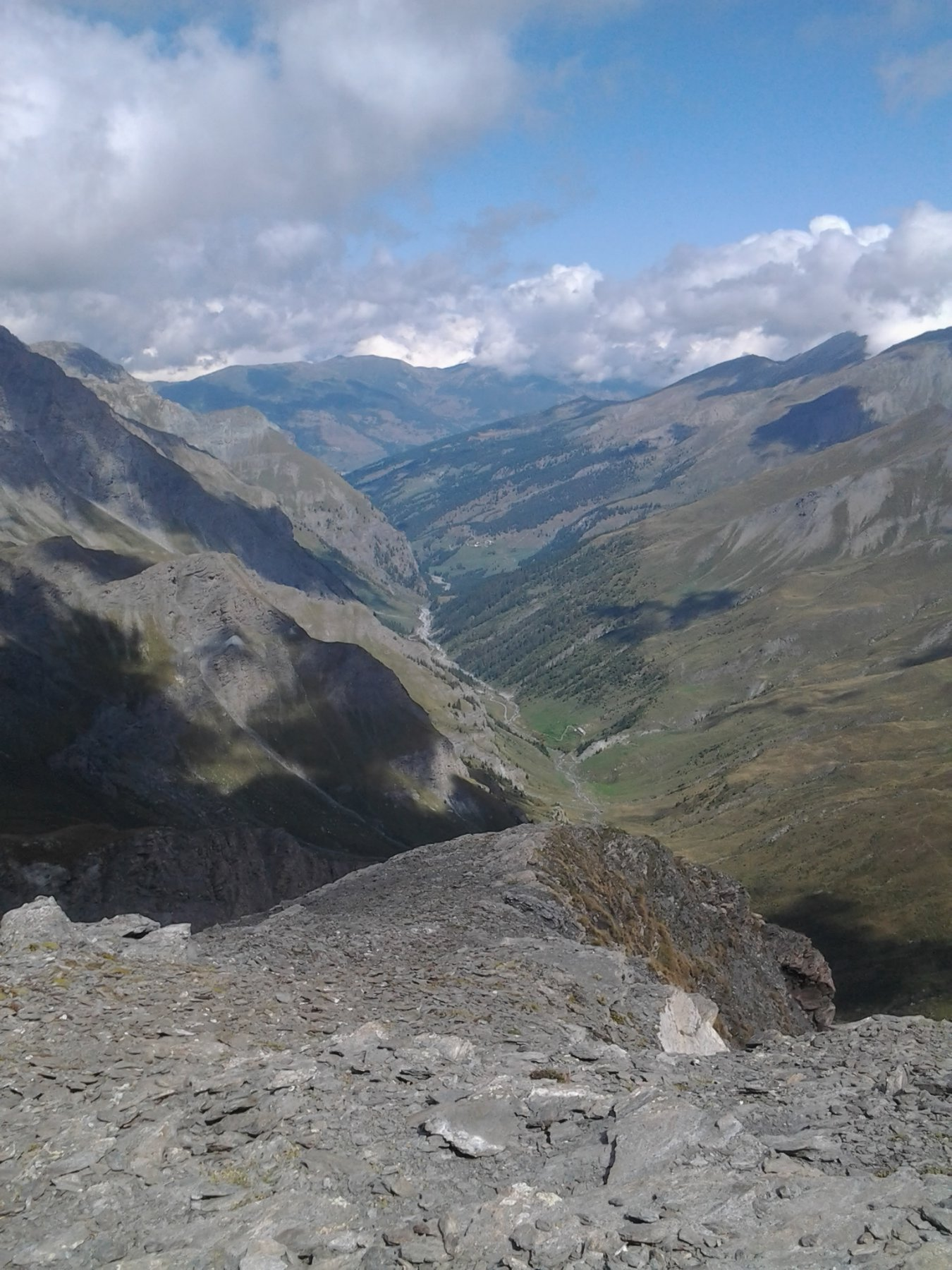Vista verso la val Troncea