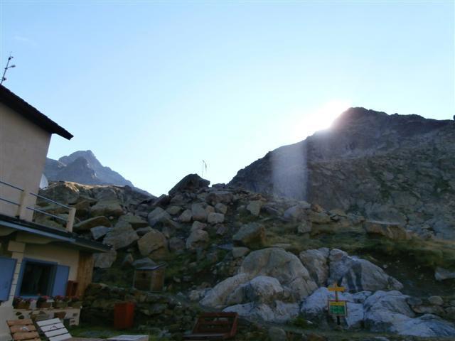 dal rifugio la cima del Chiapous