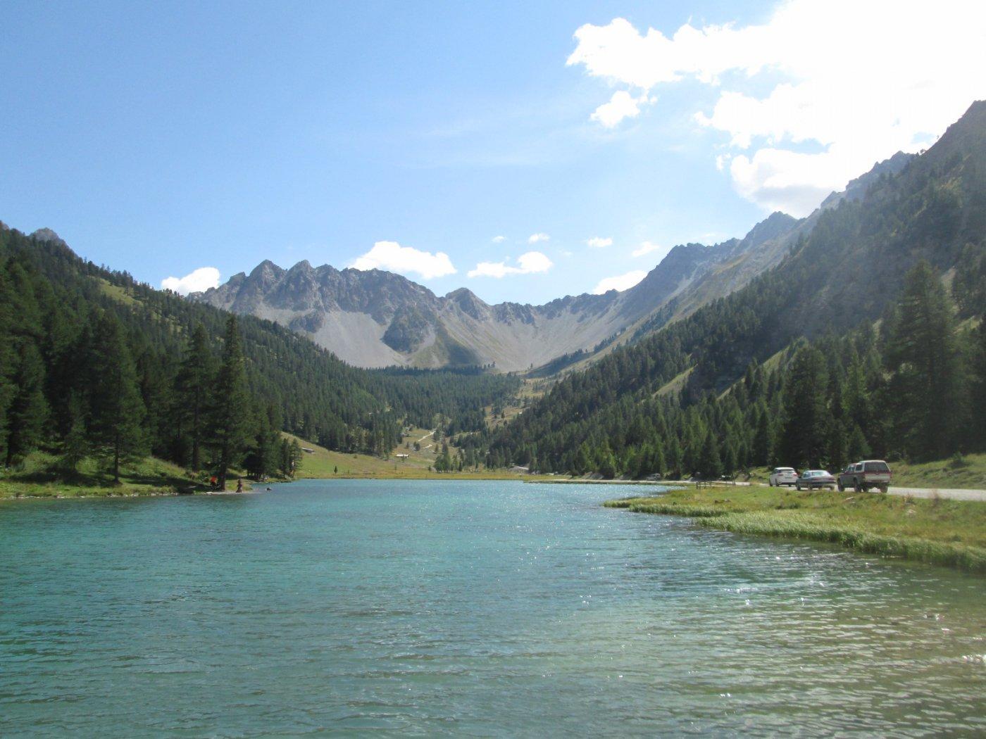 il bellissimo Lac de l'Orceyrette