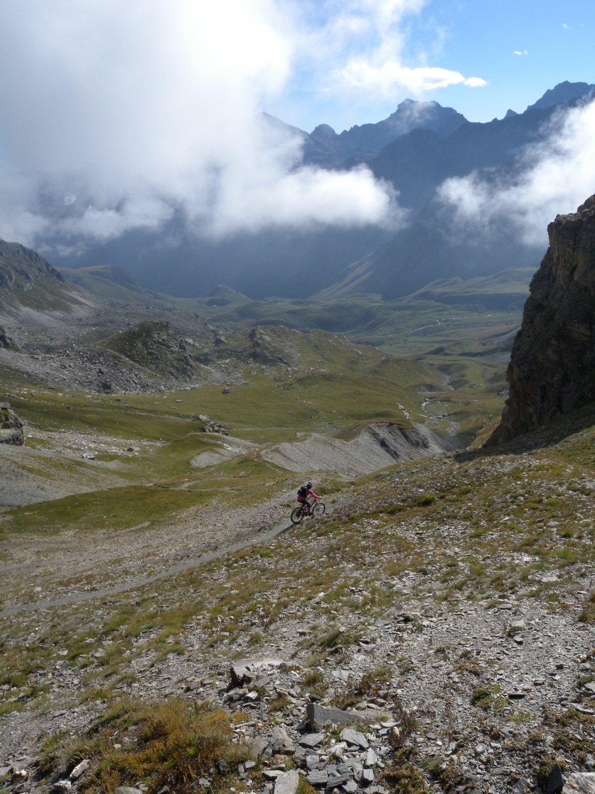 Maurin, Autaret, Bellino (Colli) Tour del Monte Maniglia 2015-08-25