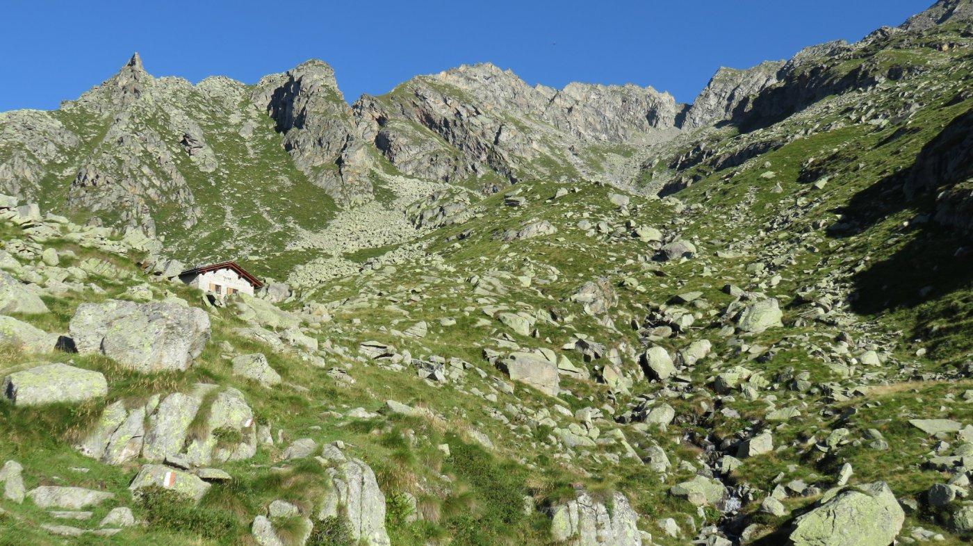 Arrivo all'Alpe Giavino