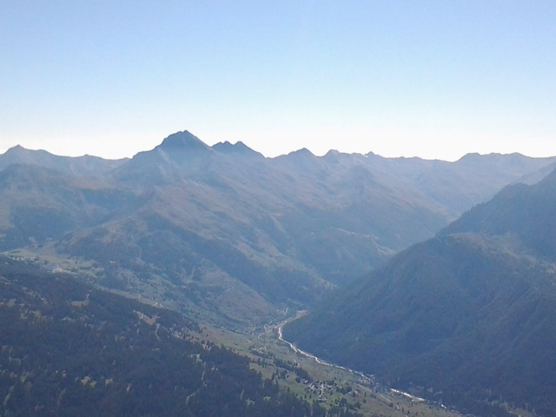 Lunga costiera della valle Argentera, dalla Rognosa al Barifreddo e oltre