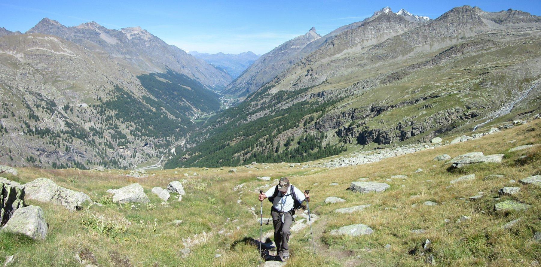 Panorama sulla Valsavarenche