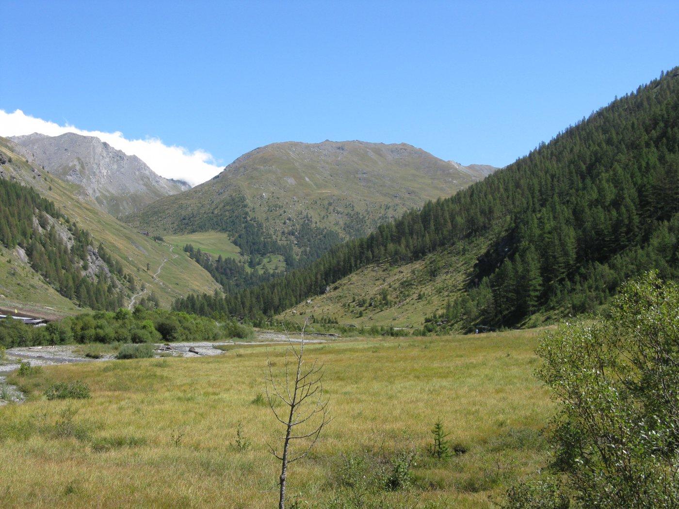 l'alta Valle Argentera