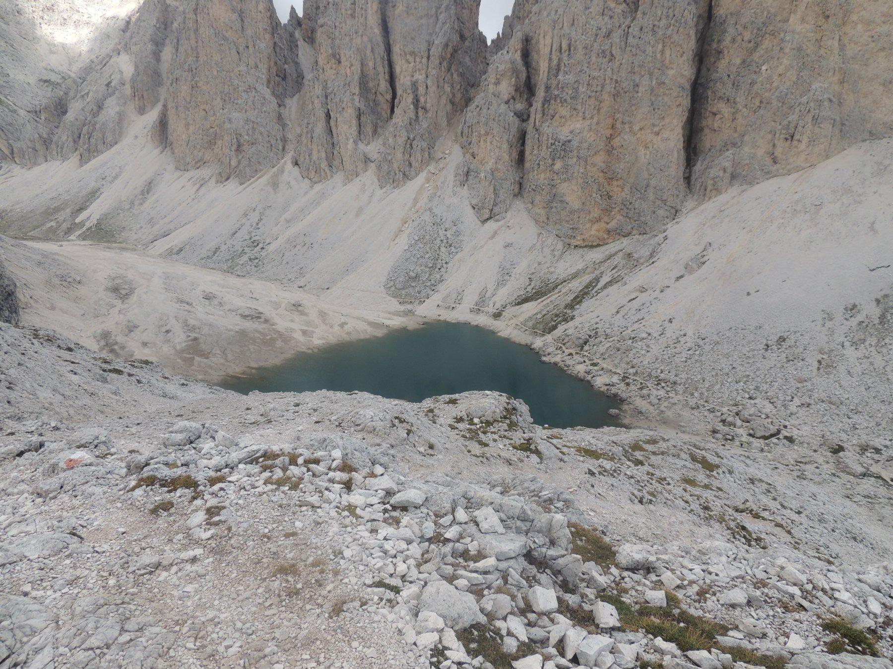 Scalette, Lausa, Dona (Passi) da Monzon per il sentiero delle Scalette 2015-08-26