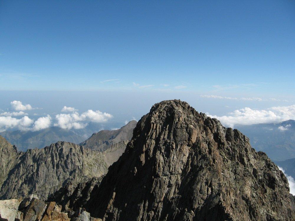 Monte Stella dal Gelas di Lourousa