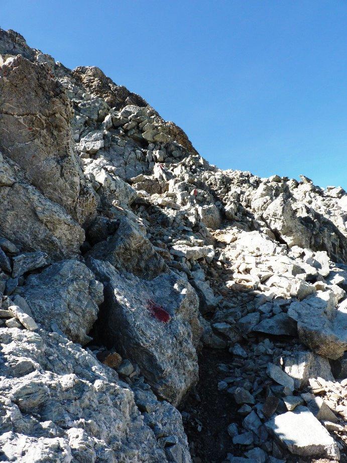 Inizio parte alpinistica