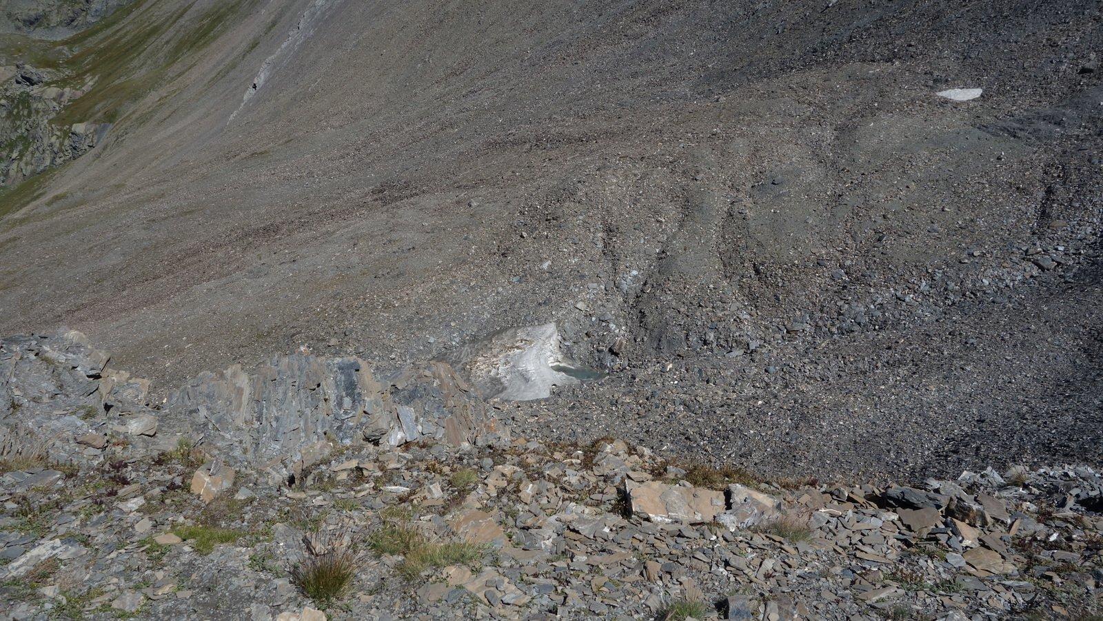 Neve su percorso Scialp del Faraut