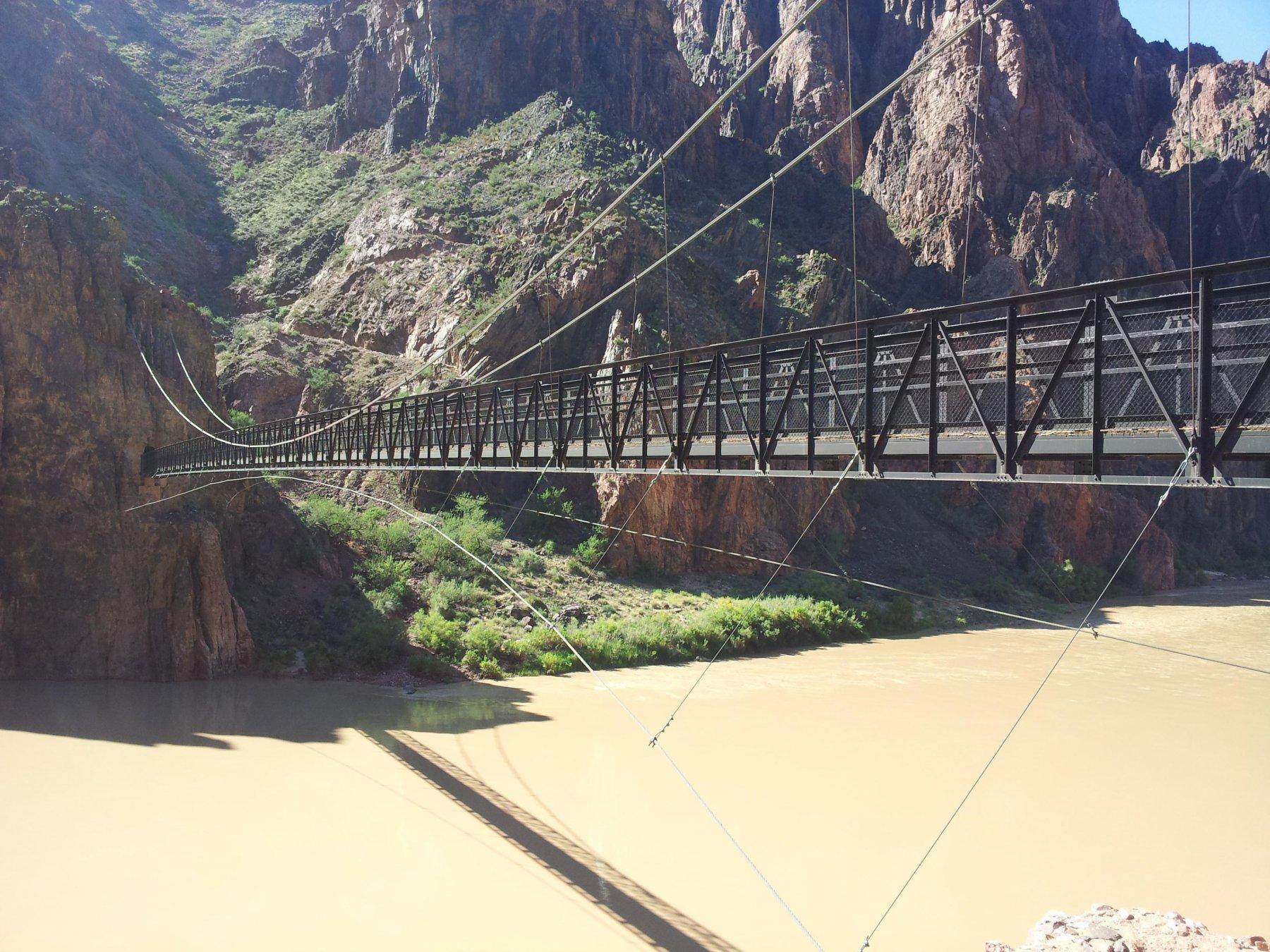 Colorado River - Phantom Ranch South Kaibab Trail 2015-08-29