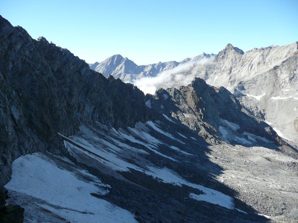 Colle della Lavinetta e attacco cresta Bardoney