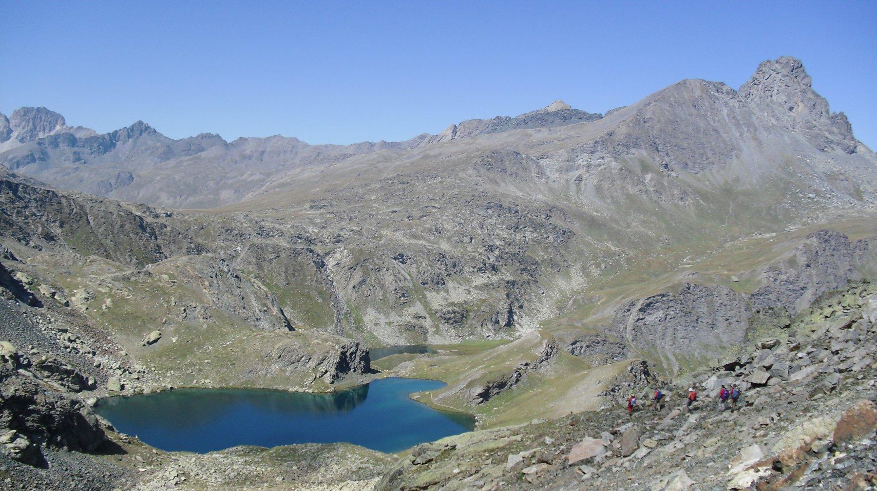 Roc de la Niera e laghi.