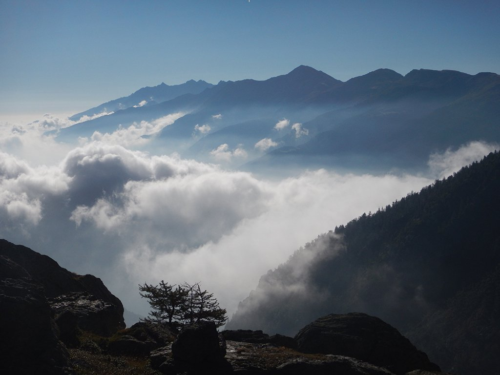 Nubi basse in valle