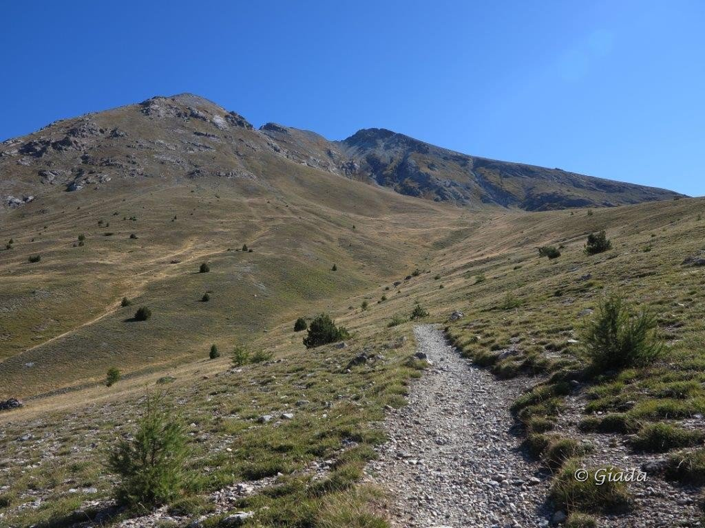 Sul sentiero verso il Bec Roux