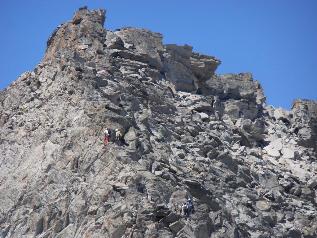 tratto alpinistico