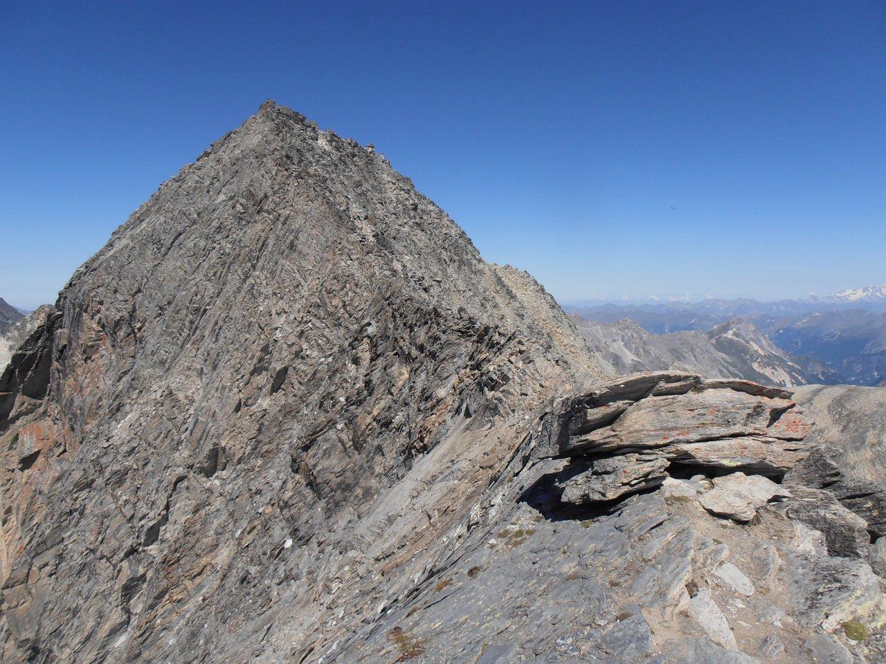 06 - dal Gran Roc la cresta che porta alla Pointe de l'Echelle