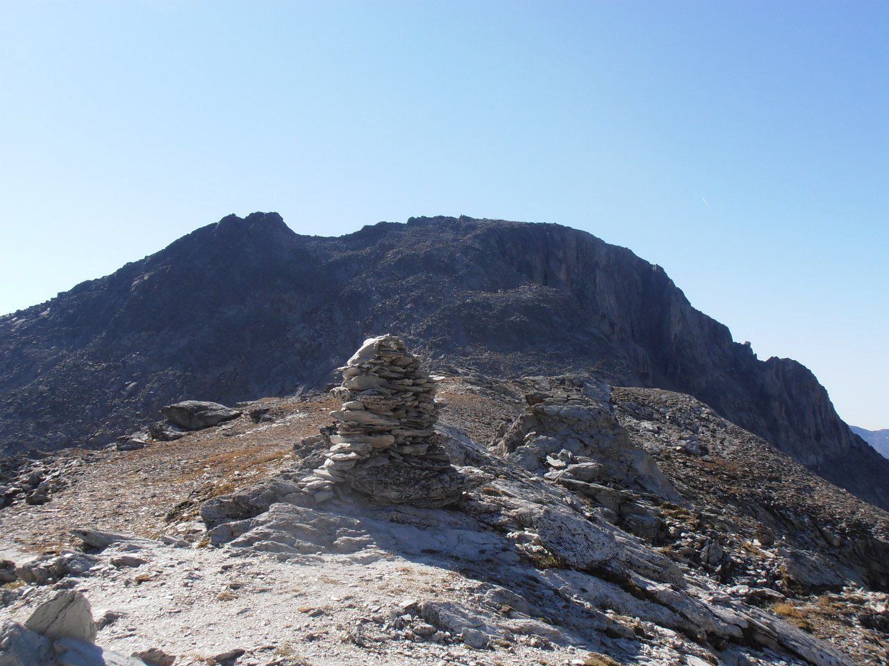 04 - al Col de la Masse con il Rateau d'Aussois sullo sfondo