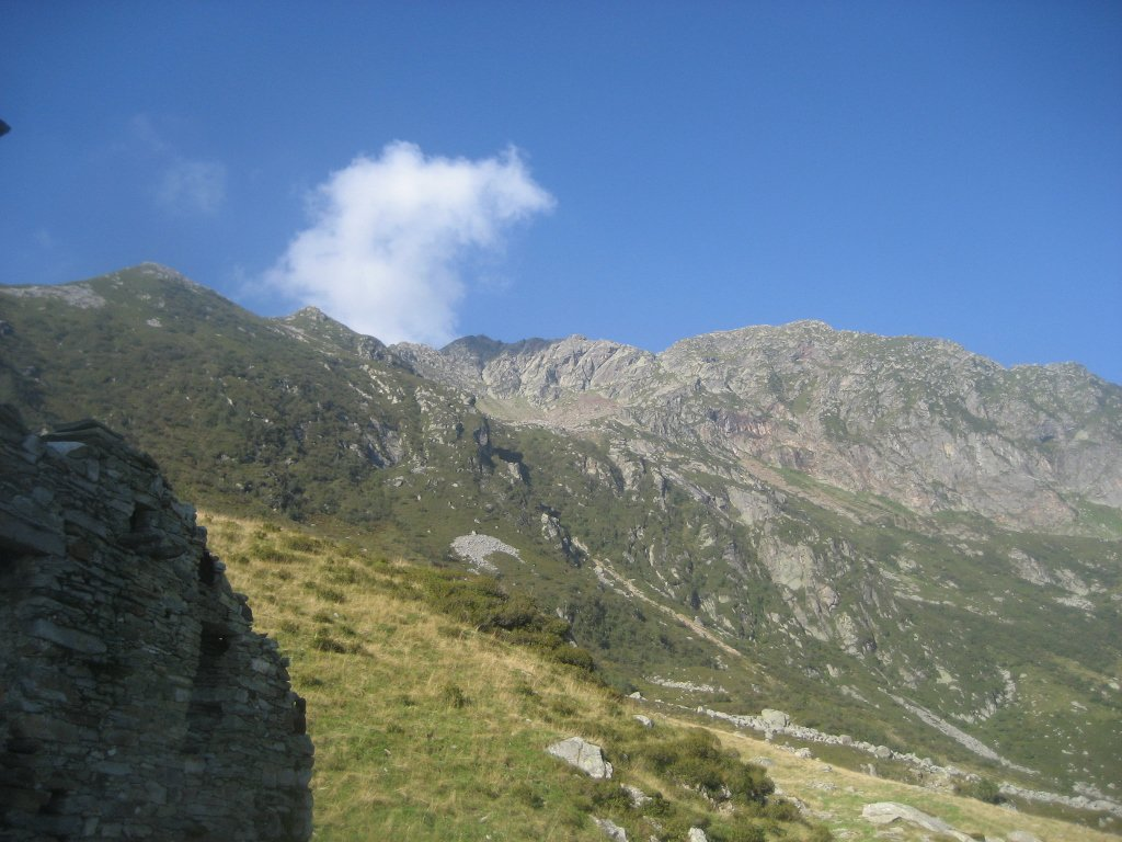 punta Sivella dall'alpe Vasnera