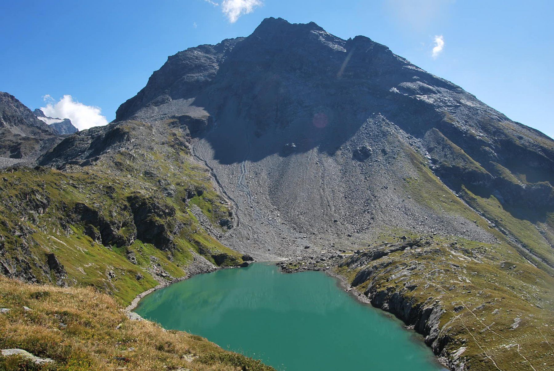 Mont (Col du) traversata la Sassiere - Valgrisenche per l'Arete de Montseti 2015-08-31