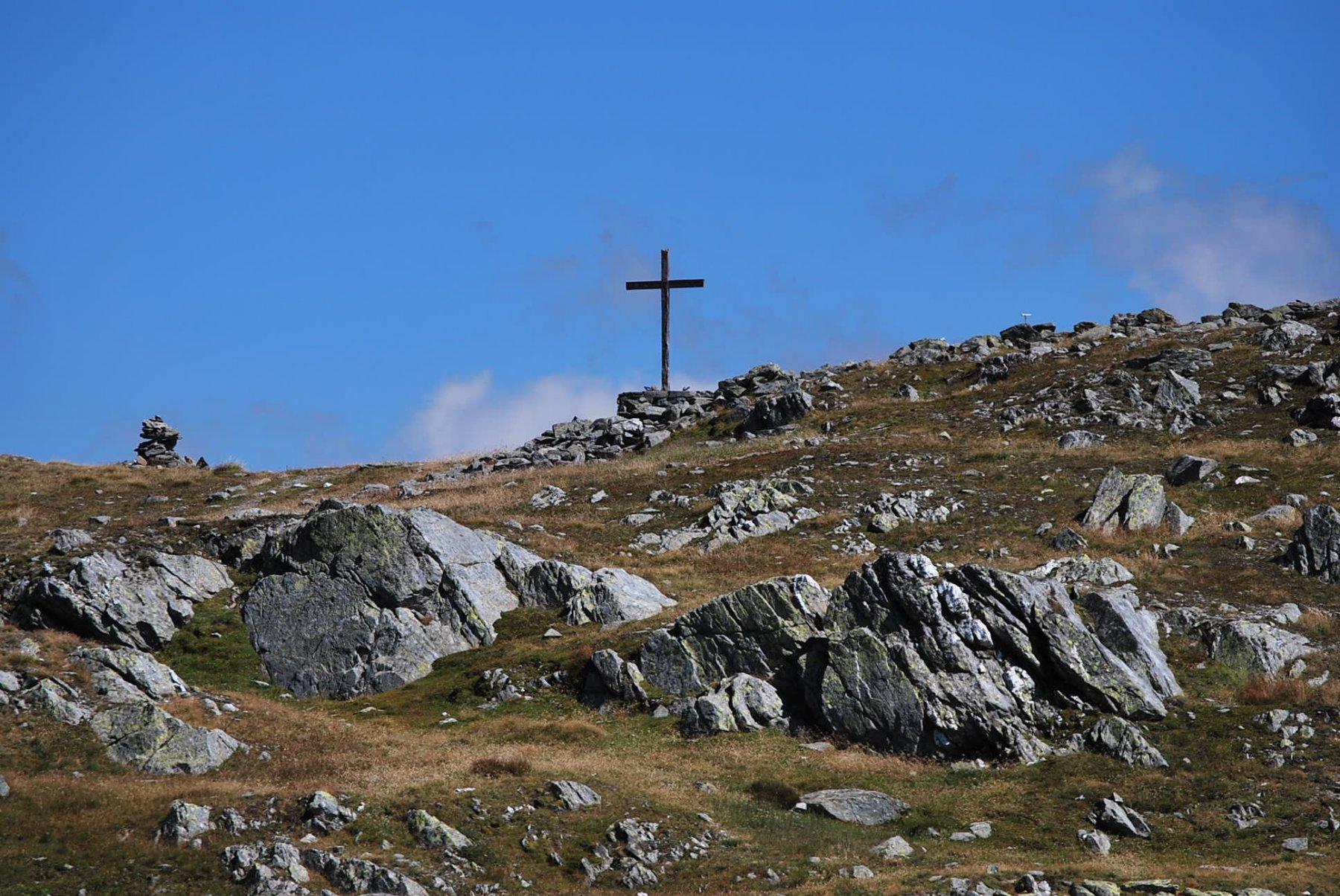 L'arrivo al Col du Mont