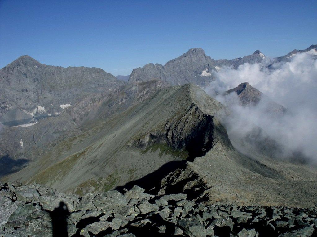 Servin (Monte) per il Colle Speranza e la cresta SE 2015-08-31