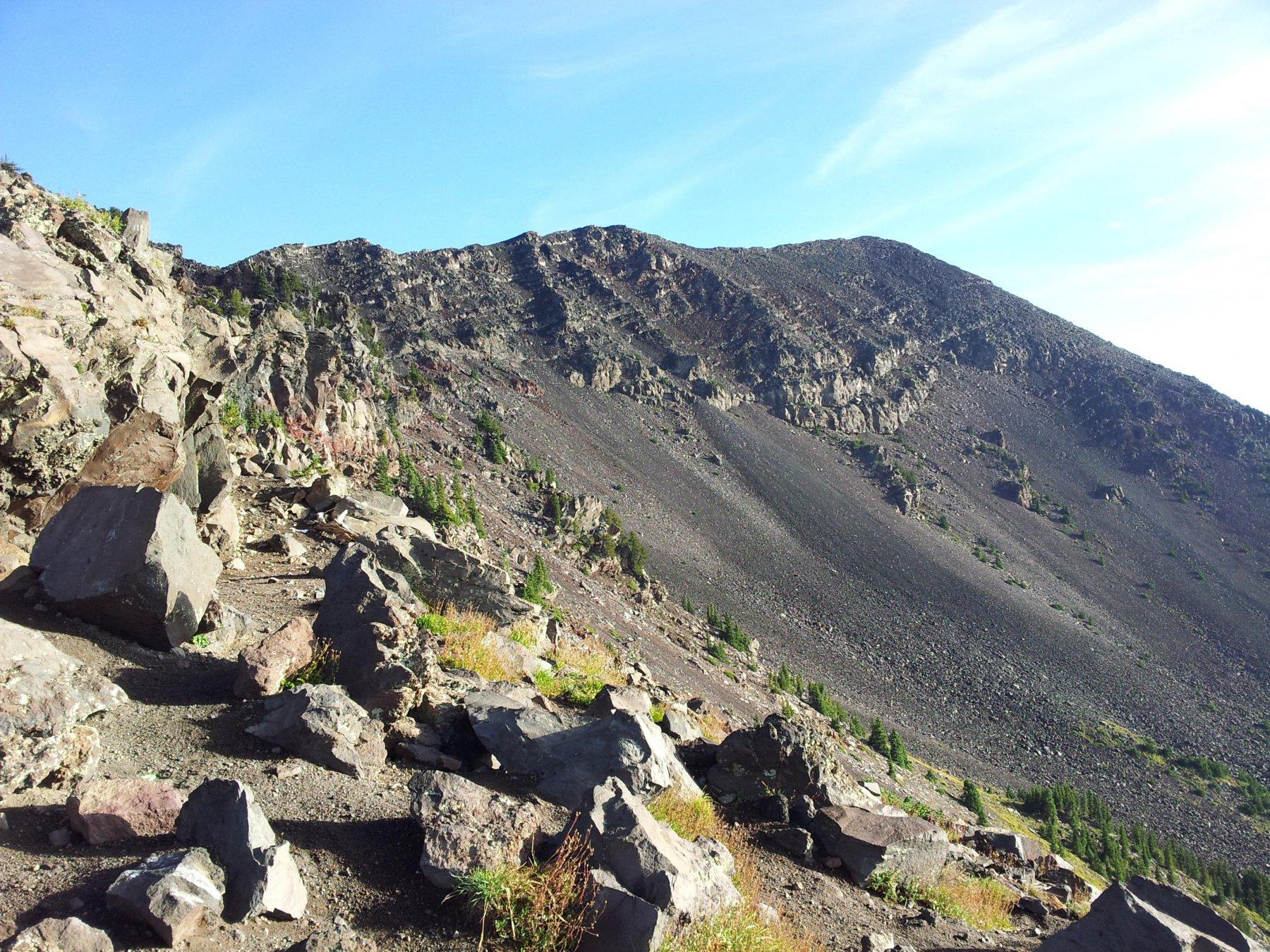 Alla sella guardando verso Nord (Humphreys Peak)