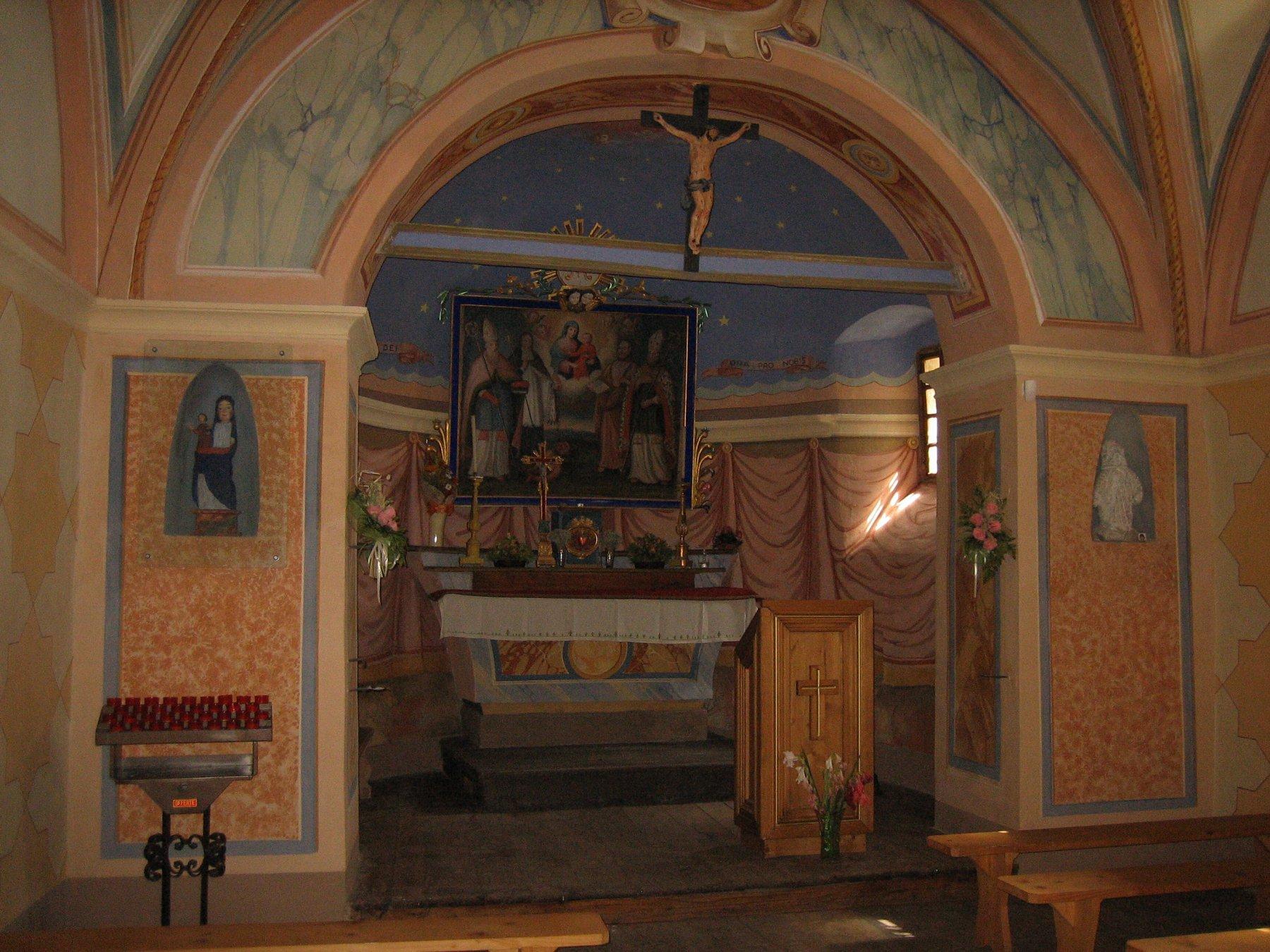 Bel interno dell'Oratorio