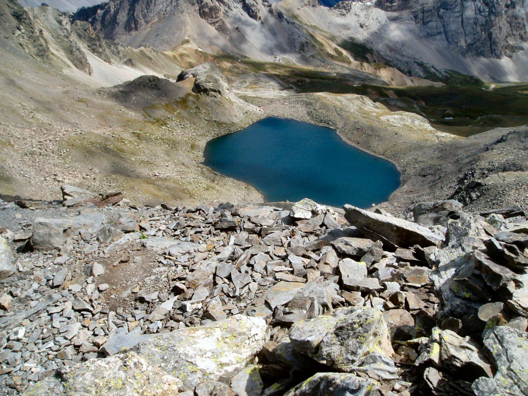 Lac Blanc e colle del Vallone.