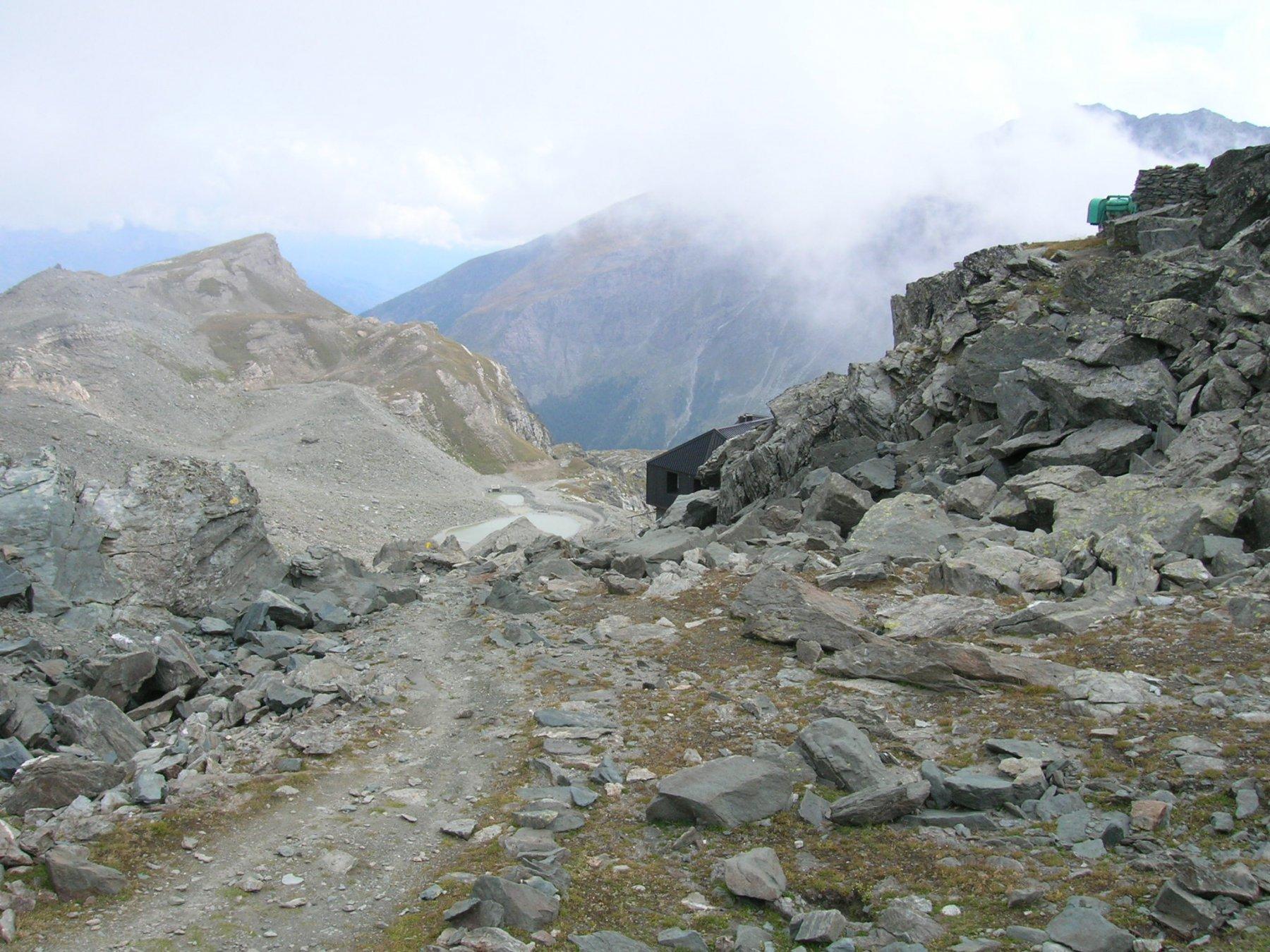 Angeli (Rifugio degli) da Valgrisenche, giro Vallone San Grato - la Bethaz 2015-09-03