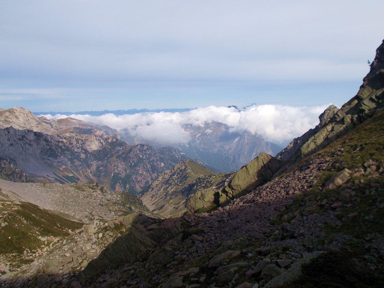Porta Marguareis ,vista su Val Pesio