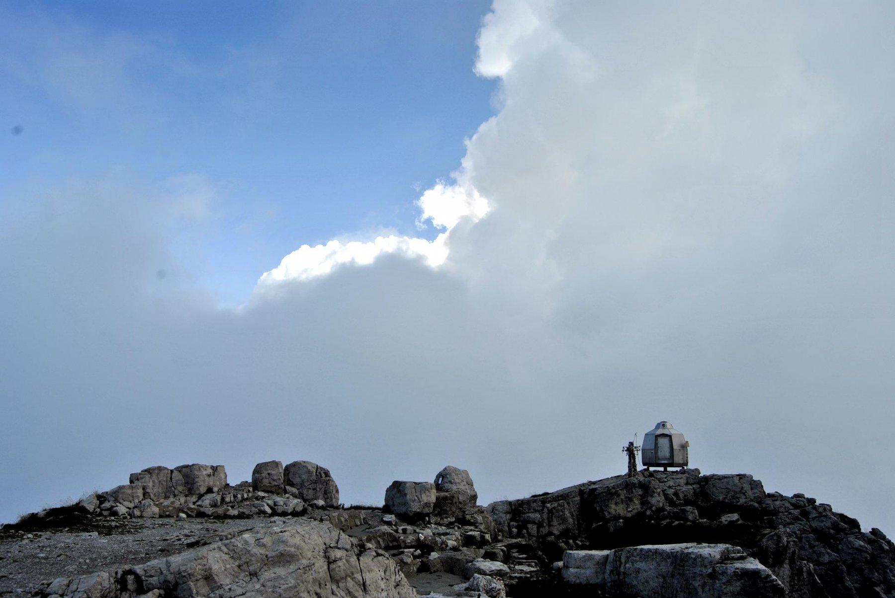 In cima alla Grignetta