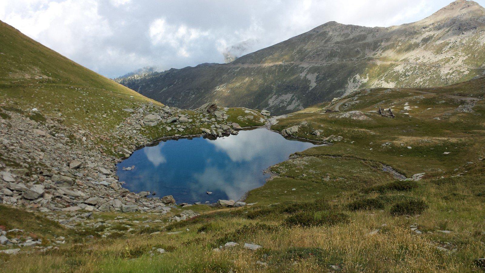 Il lago piccolo alla Conca Cialancia