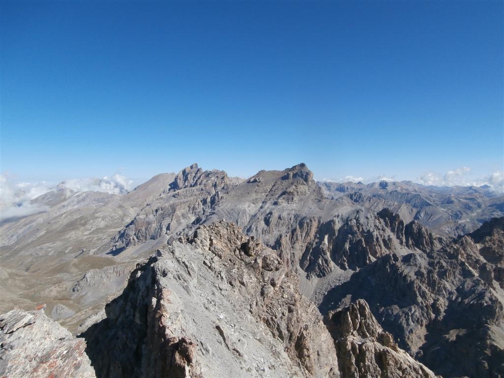 Rocca Blancia, Buc di Nubiera e Brec de Chambeyron