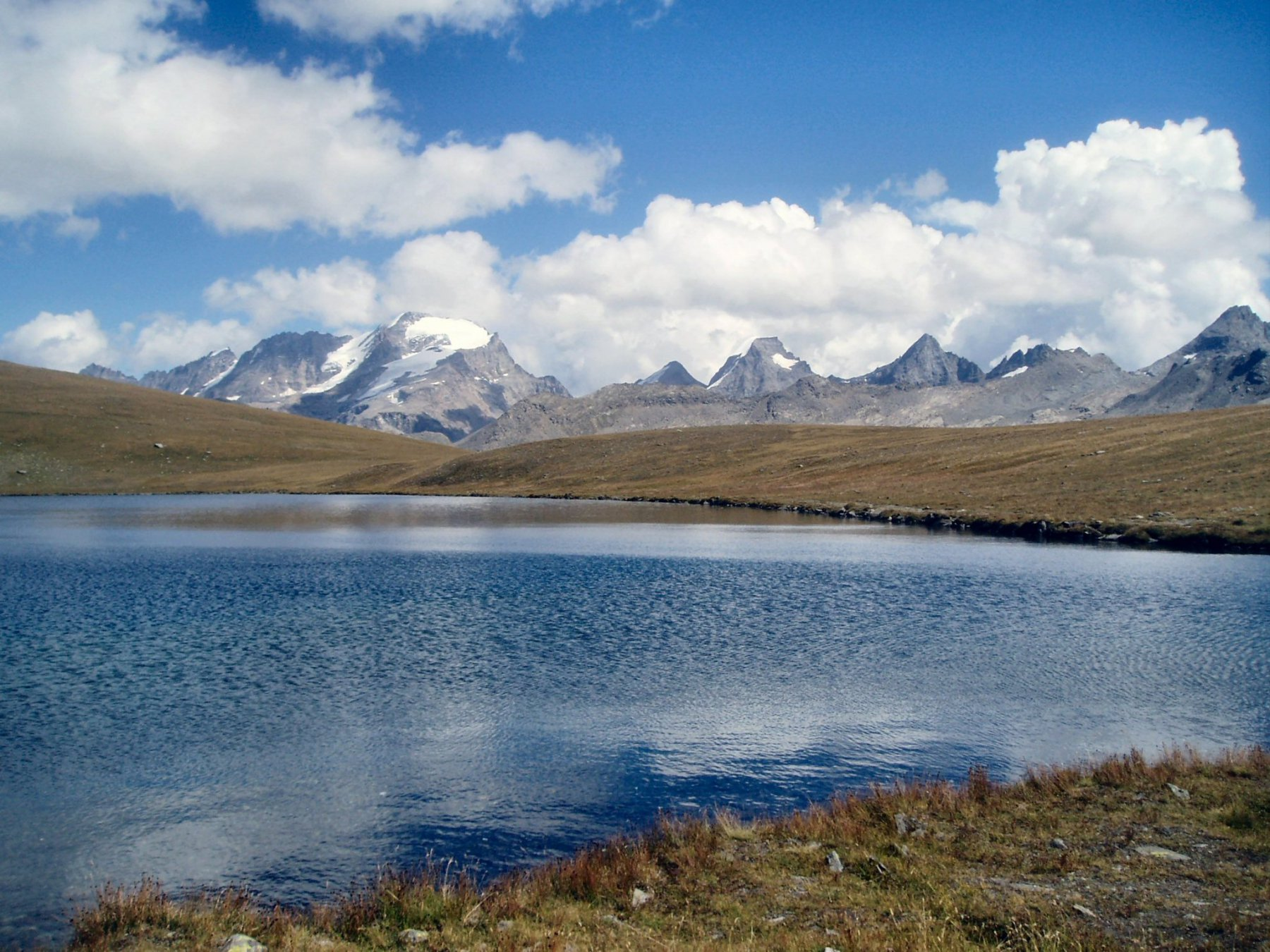 Gruppo Granpa dal Lago Rosset.
