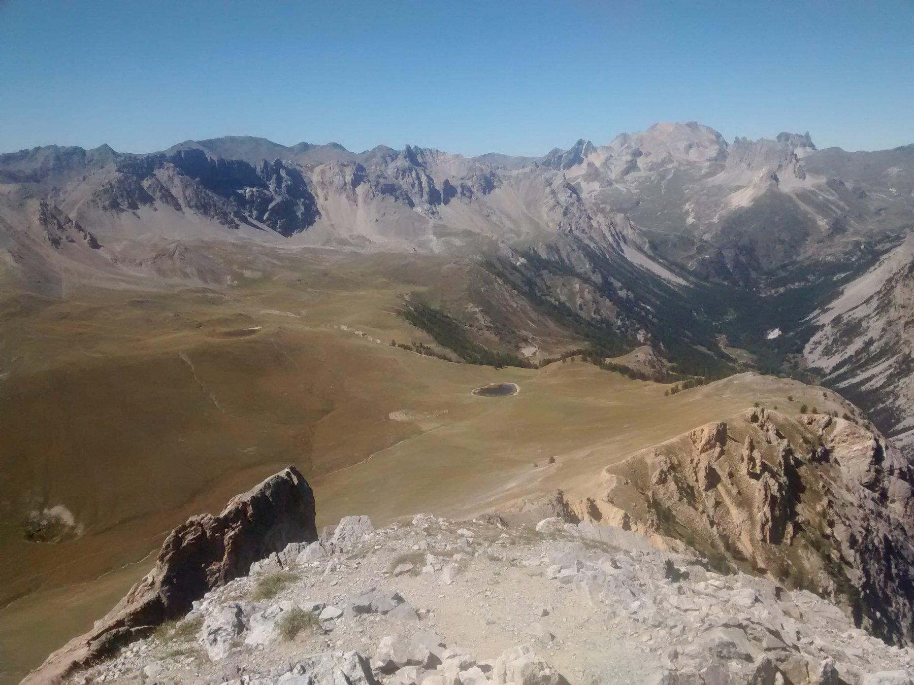 Laghi di Thures e valle stretta