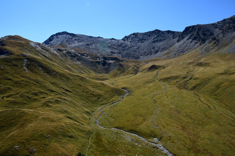 Al fondo la vetta dal Monte Clausis