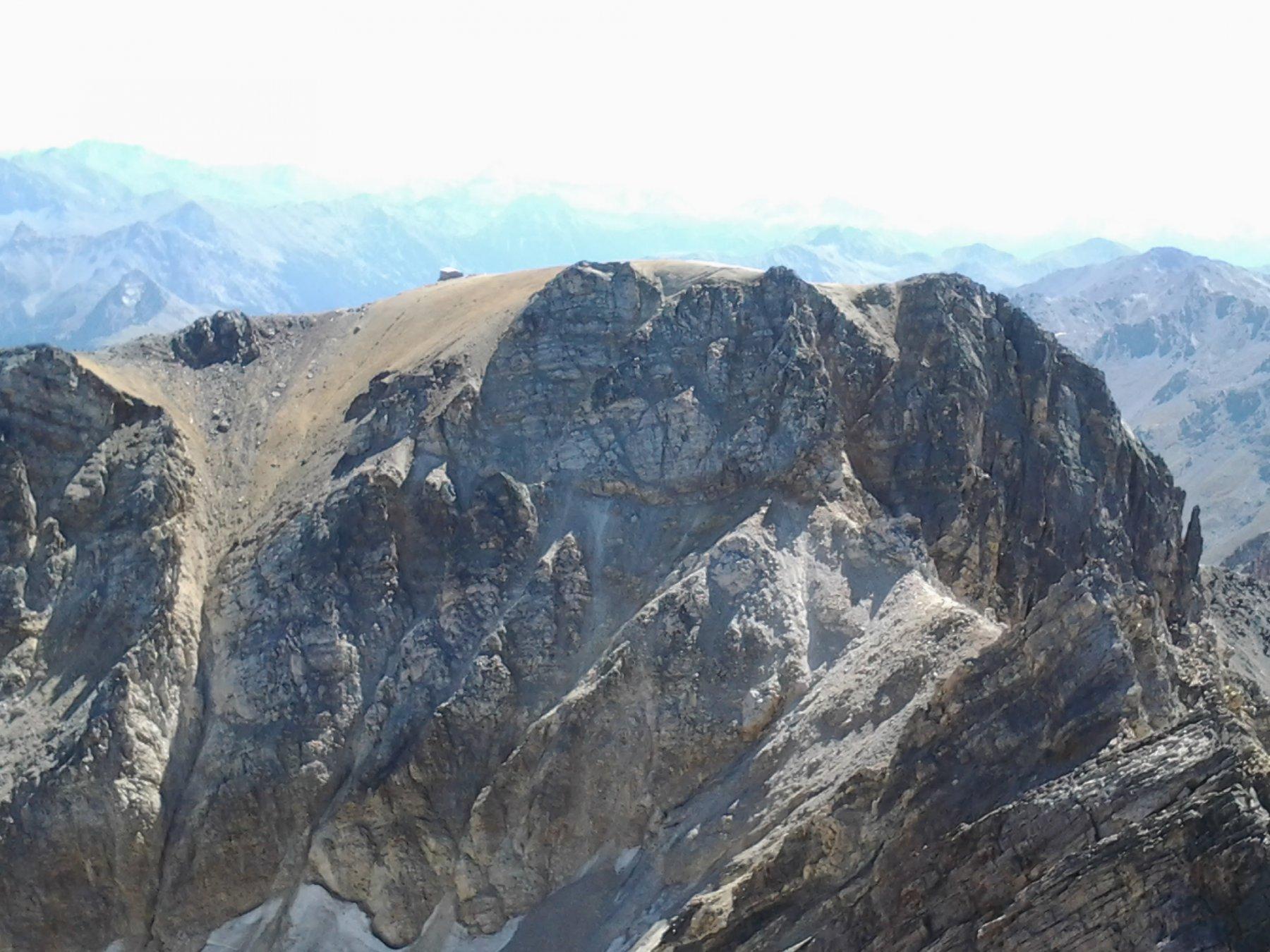 Il monte Thabor dalla cima del pic du Thabor